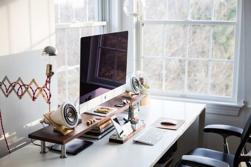 Canva - Home Office Desk Workspace